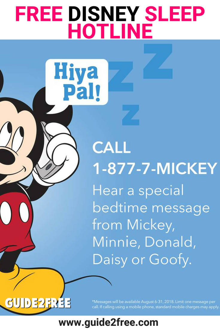 how to get a phone call from mickey mouse