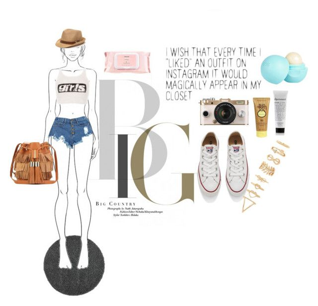 """""""Inhale the future, Exhale the past."""" by debysilviaa ❤ liked on Polyvore featuring See by Chloé, Alexander Wang, Converse, Urban Outfitters, Forever 21, Sun Bum, Mamonde and River Island"""