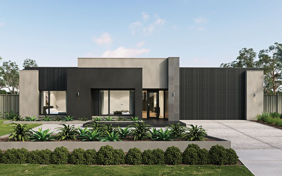 The All New Qualia Is A Home You Ll Love Coming Home To Facade House Modern House Facades Industrial House Exterior