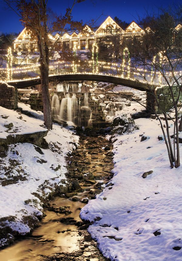 Christmas Family Vacation Packages 2019 Big Cedar Christmas | Magical Hillside Holiday in 2019 | Branson