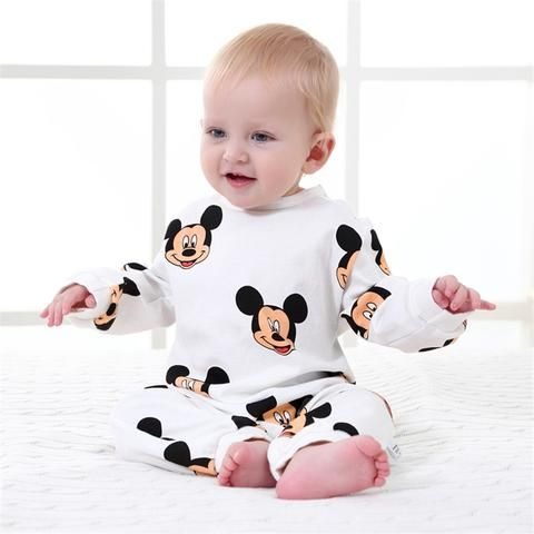 bf538dd33f8a Baby Rompers Spring Baby Boy Clothes Cotton Newborn Baby Clothes ...