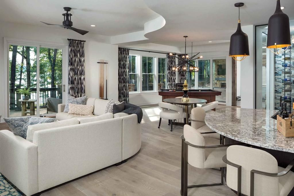 The Interior Design Team At Arthur Rutenberg Homes Has Us Loving The Art Of Mixing And Matching Collec House Design Modern Interior Design Home Interior Design