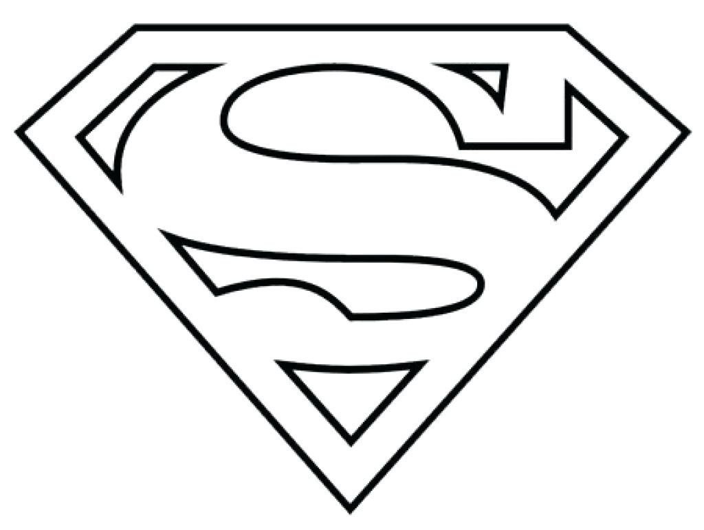 Superman Symbol Coloring Superhero Coloring Pages Superman