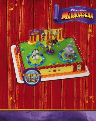 Three Ring Circus Cake Safeway