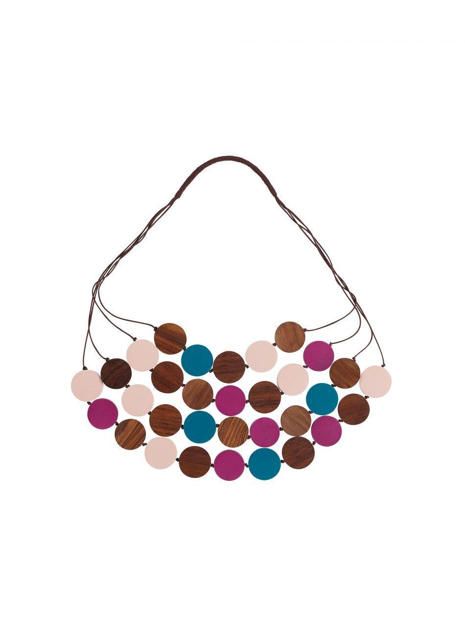 Marimekko Purkkis necklace - Leikillään jewellery collection inspired by designer Mia Maljojoki's childhood adventures.
