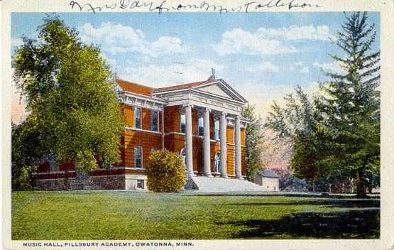 Music Hall Pillsbury Academy Owatonna Minnesota Owatonna