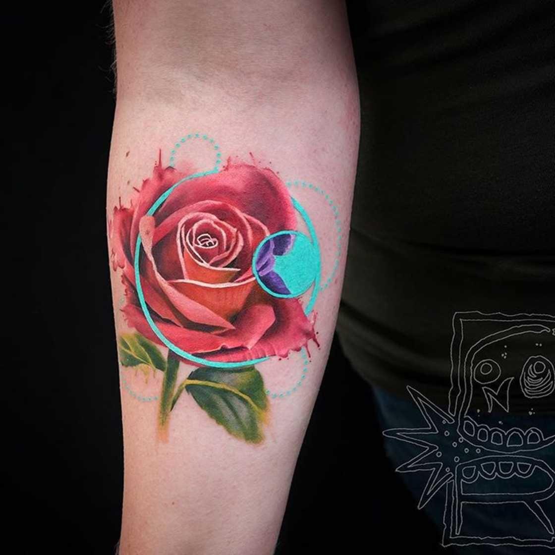 Pin De Andrew Mougios En Tattoos: 23 Tatuajes Que Mezclan Técnicas Y Estilos Por Chris