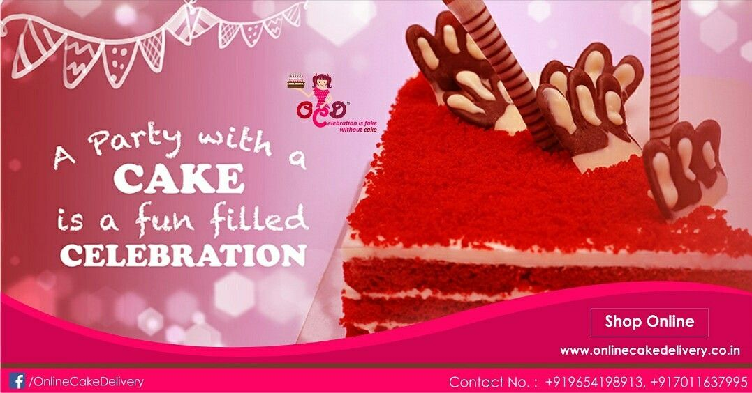 Online Cake Delivery Send Cakes To Delhi From OCD In Same