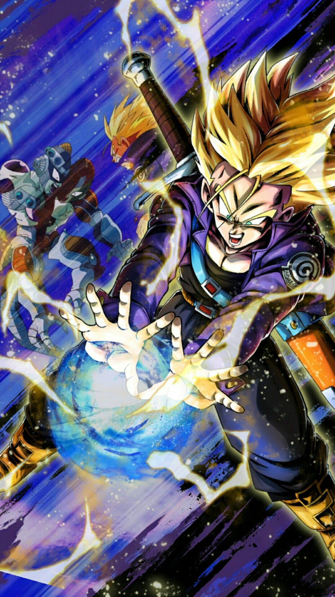 Super Saiyan Trunks Dragon Ball Wallpapers Dragon Ball Wallpaper Iphone Dragon Ball