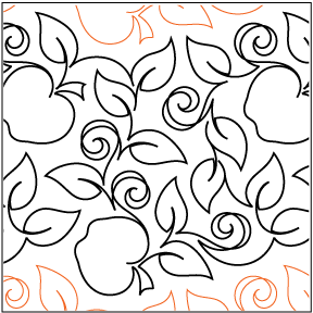 "The Apple Orchard set includes: One  10.25"" wide pantograph One  5.25"" wide Border / SashingTwo  BlocksOne CornerTwo Set-in Triangles © 2011  Patricia E. Ritter   * This design is available in both paper and digital.  Please select your preference below. NOTE:   All digital designs include the following conversions:  CQP, DXF, HQF, IQP, MQR, PAT, QLI, SSD, TXT, WMF and 4QB or PLT. Most designs also include a DWF, GIF and PDF. This pattern was converted by Digitech."