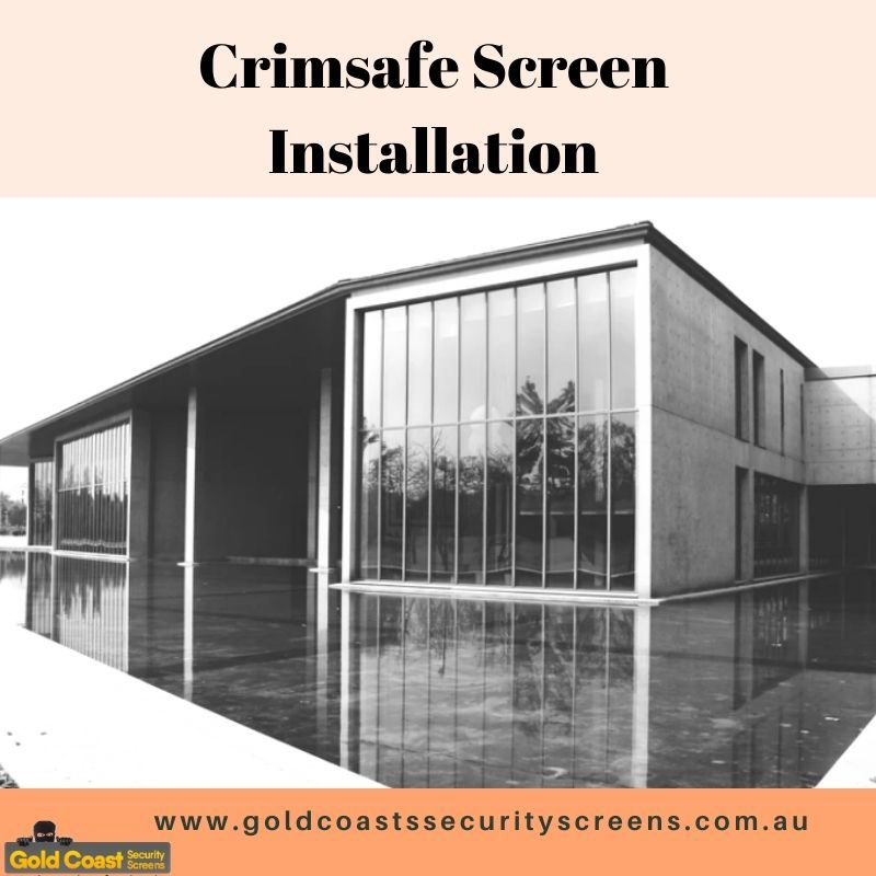 Crimsafe Screen Installation Patio Enclosures Gold Coast Security Screen