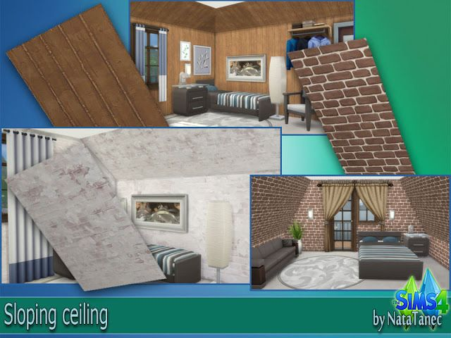 Corporation Simsstroy The Sims 4 Sloping Ceiling