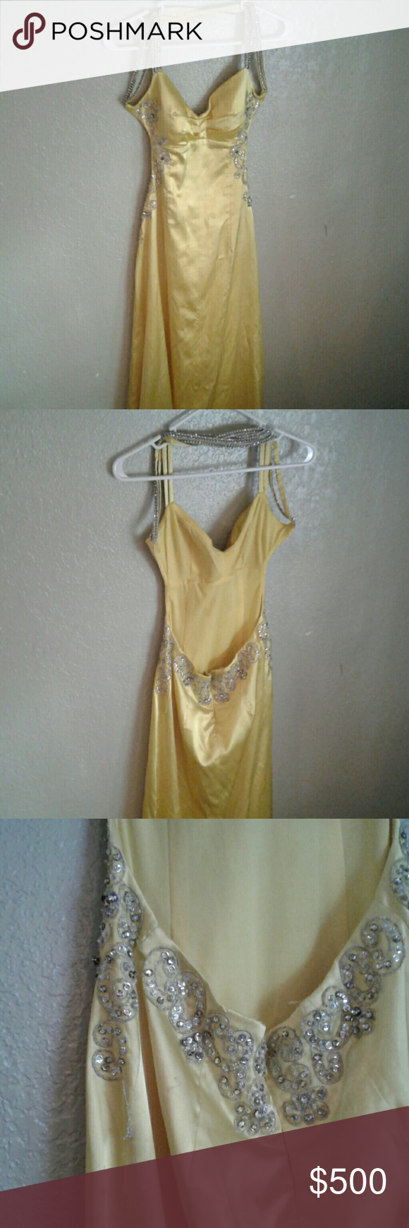Belle yellow prom dress prom belle and dress prom