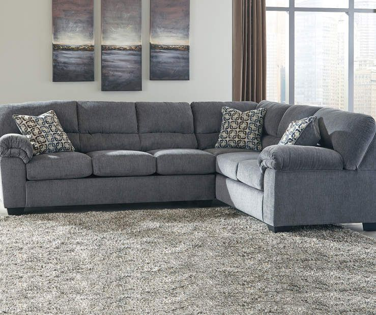Best Signature Design By Ashley Ramsdell Living Room Sectional At Big Lots Couch Living Room 400 x 300