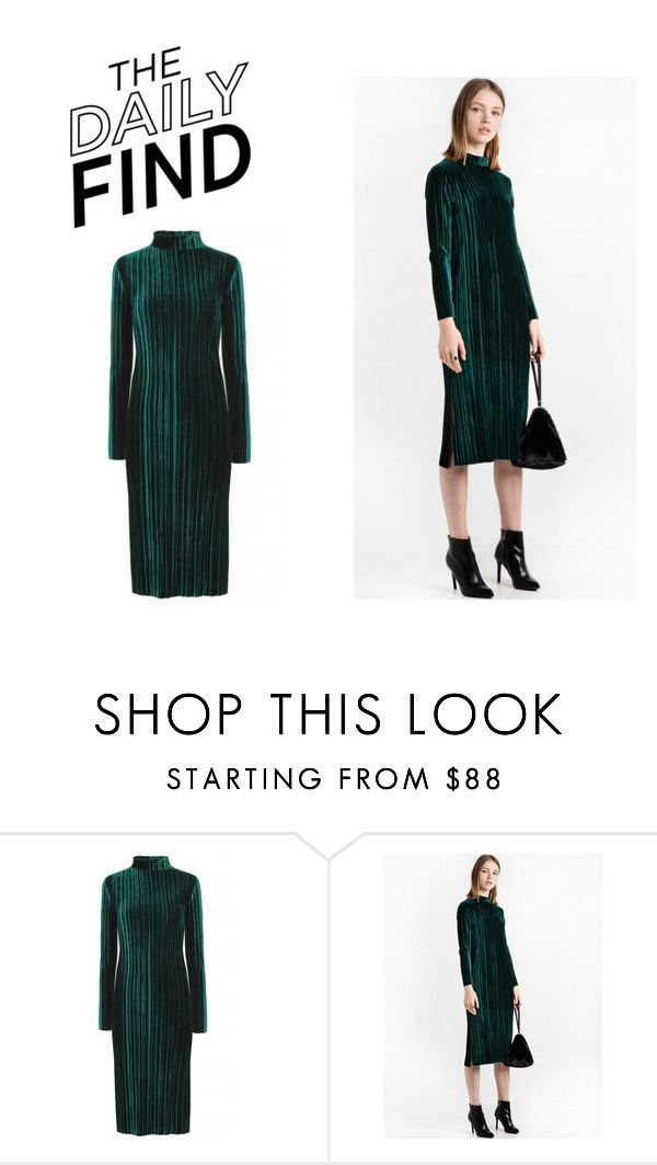 """""""The Daily Find: Pixie Market Velvet Dress"""" by polyvore-editorial ❤ liked on Polyvore featuring DailyFind"""