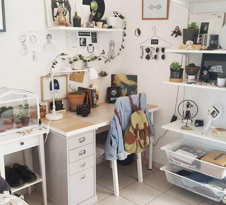 Bedroom Art Desk: Room, Room Decor, Bedroom Inspo