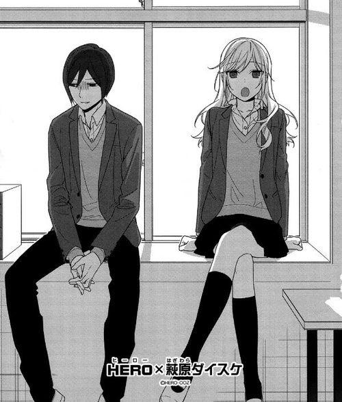 Imagen De Manga Manga Cap And Horimiya Horimiya Kyoko Manga