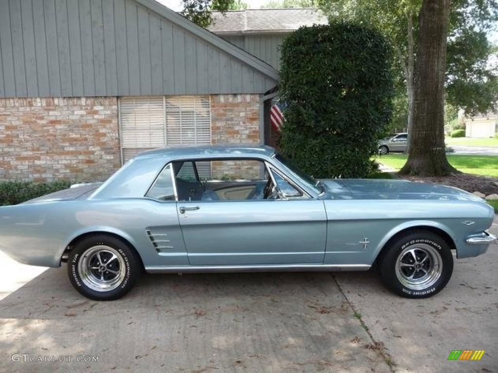 1966 Mustang Coupe Blue