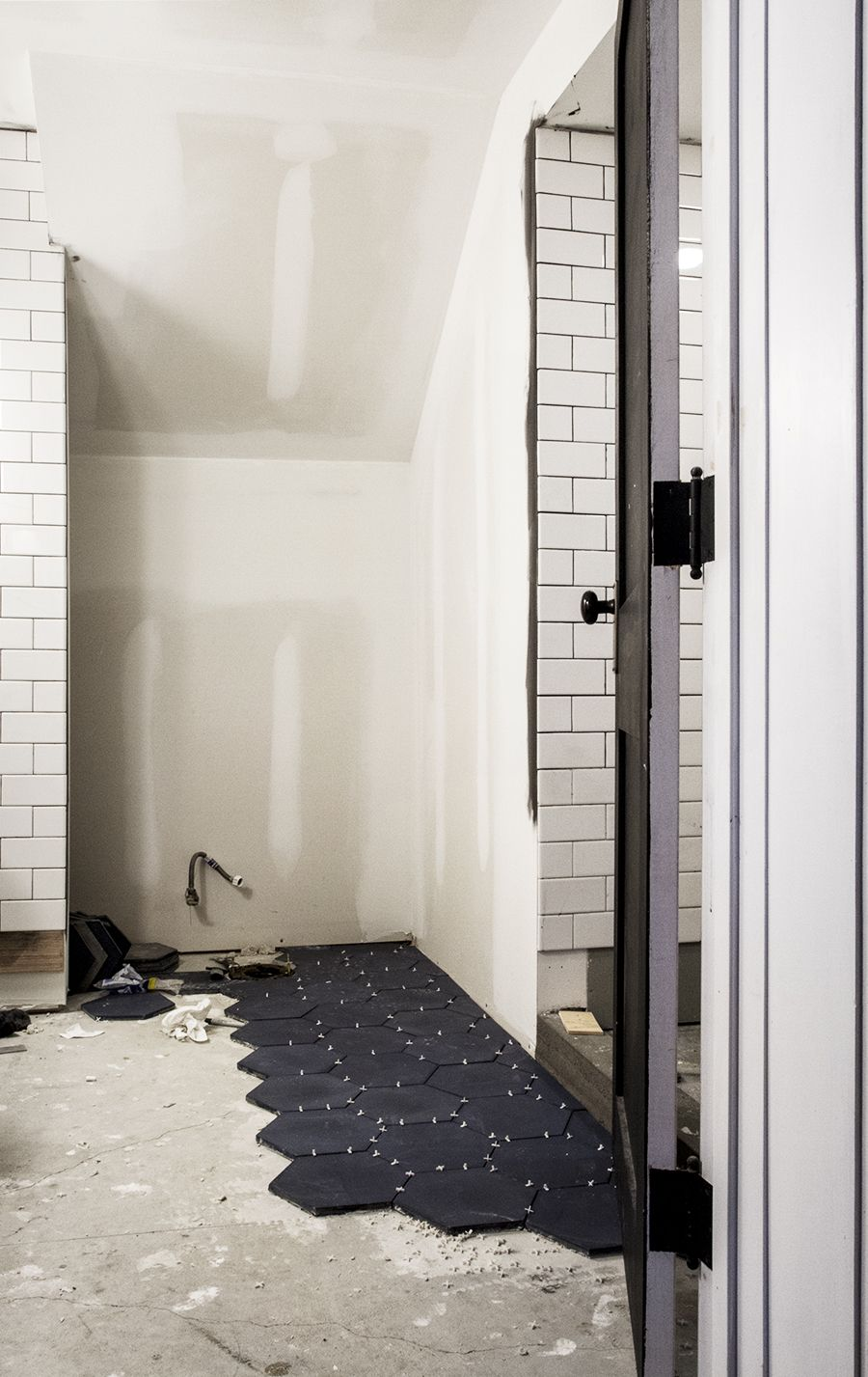 Cement hexagon tile by cl tile installation bathrooms pinterest cement hexagon tile by cl tile installation dailygadgetfo Choice Image