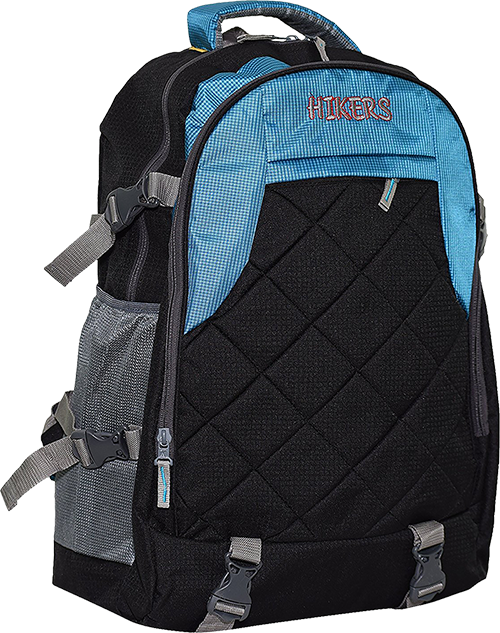 Buy Hikers 55 Liters Blue and Black Casual Backpack from Amazon. Backpacks, Backpack  Bags f98f8e0aae