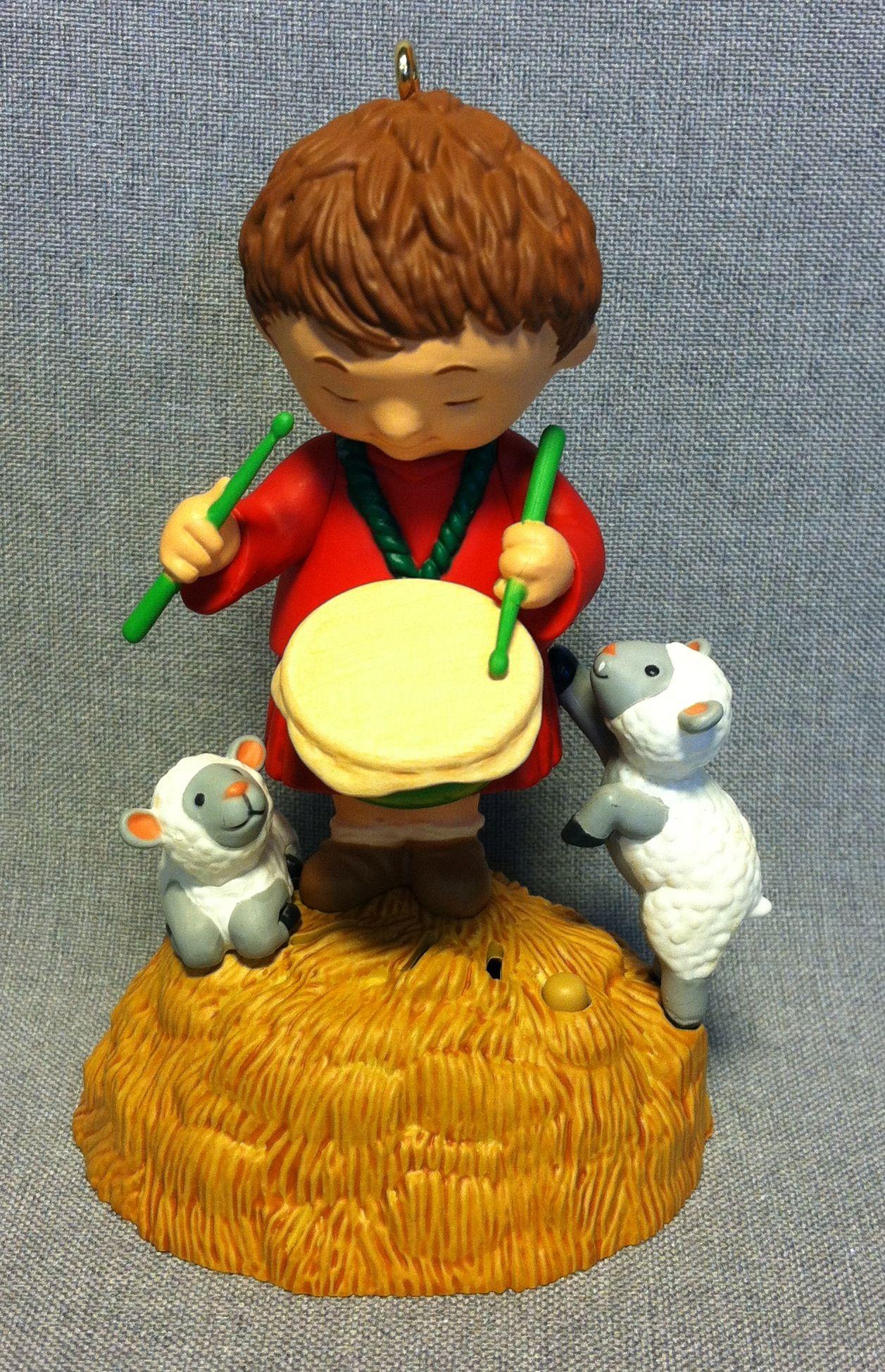 Little Drummer Boy Hallmark 2010 Hallmark ornaments