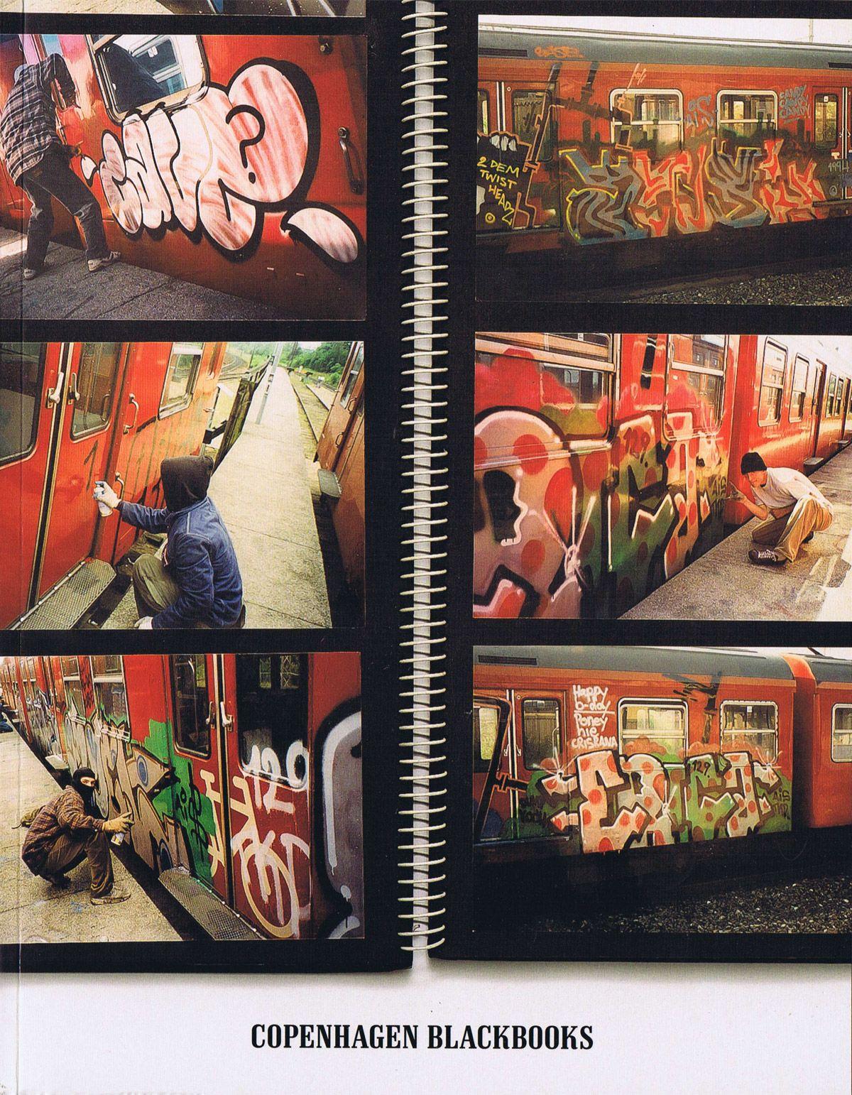 Copenhagen Blackbooks bog fra Viking og Creas