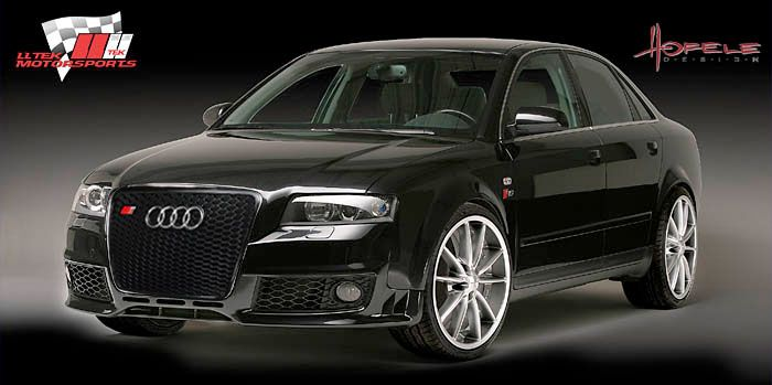 Audi A4 B6 And Audi S4 B6 Rsfour Body Kit Styling And Aftermarket Parts By Hofele Audi S4 Audi A4 Audi