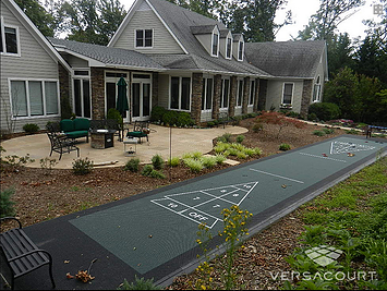 Bon Backyard And Commercial Shuffleboard Courts. | Bakery Blue | Pinterest |  Backyard, Commercial And Patios