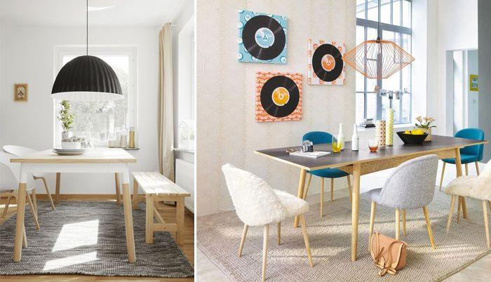 Une table de salle à manger jen rêve table en long style scandinave