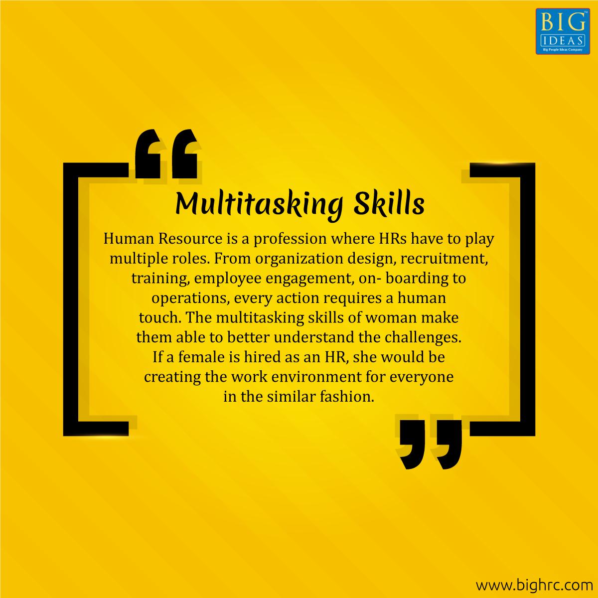 Here is the 3rd reason why women lead in human resources. #HumanResource #womenleaders #womenempowerment #BigIdeasHR