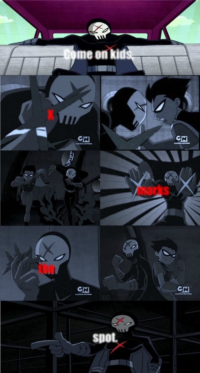 """""""Face it, Red X could be anyone. Anyone smart enough to find the suit, and dumb enough to take it for a joyride. """""""