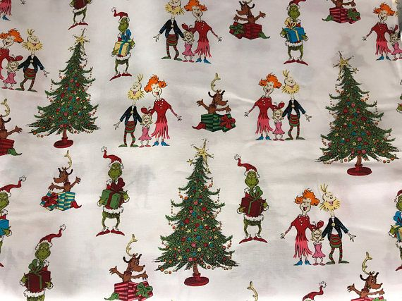 how the grinch stole christmas fabric grinch fabric grinch
