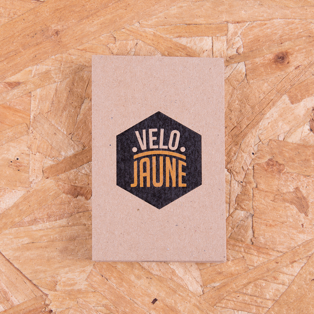 Beautiful recycled business cards for velojaune.co.uk - does your ...