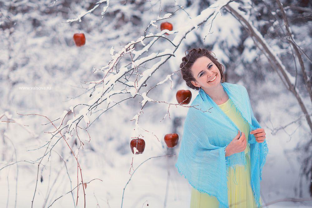 идеи для фотосессии на природе зимой что можно