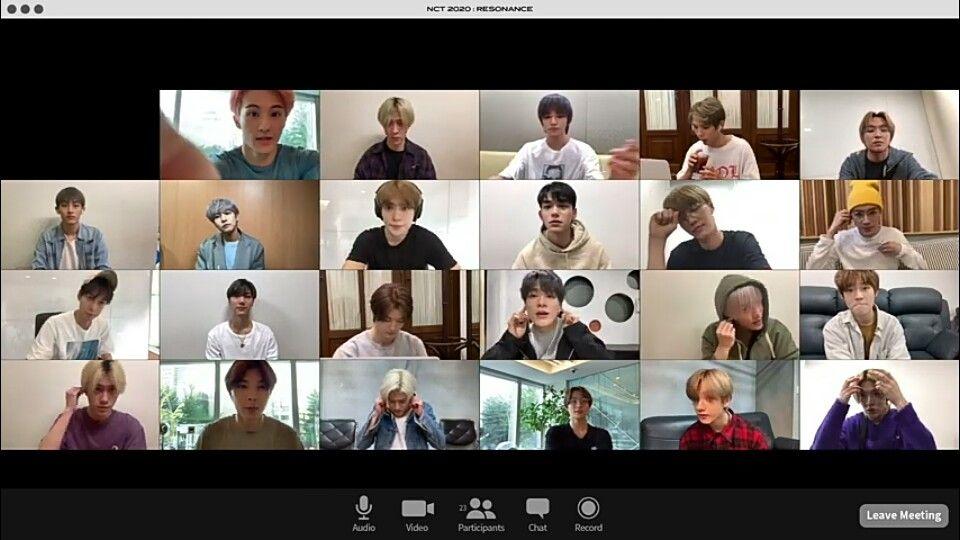 Background Zoom Meeting Kpop