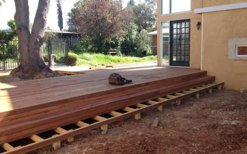 Best Merbau Decking Stairs Deck Timber Stairs Carpentry 400 x 300