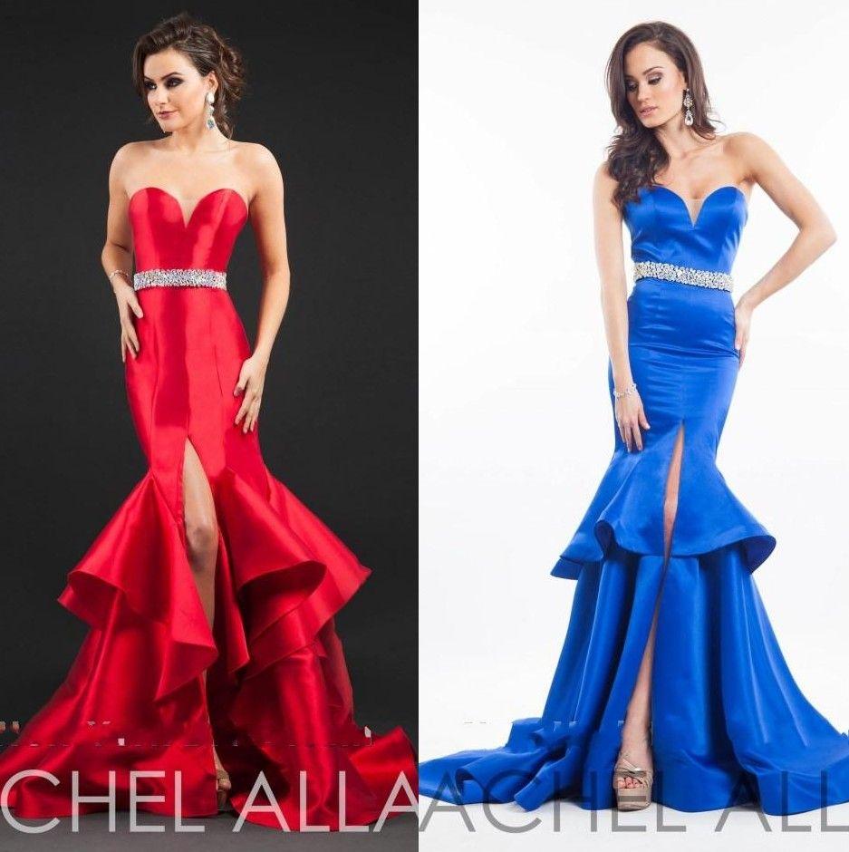 Click to buy ucuc rachel allan mermaid evening dress sweetheart