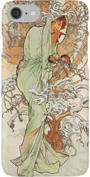 ART NOUVEAU MUCHA  cross stitch chart also available as A4 glossy print