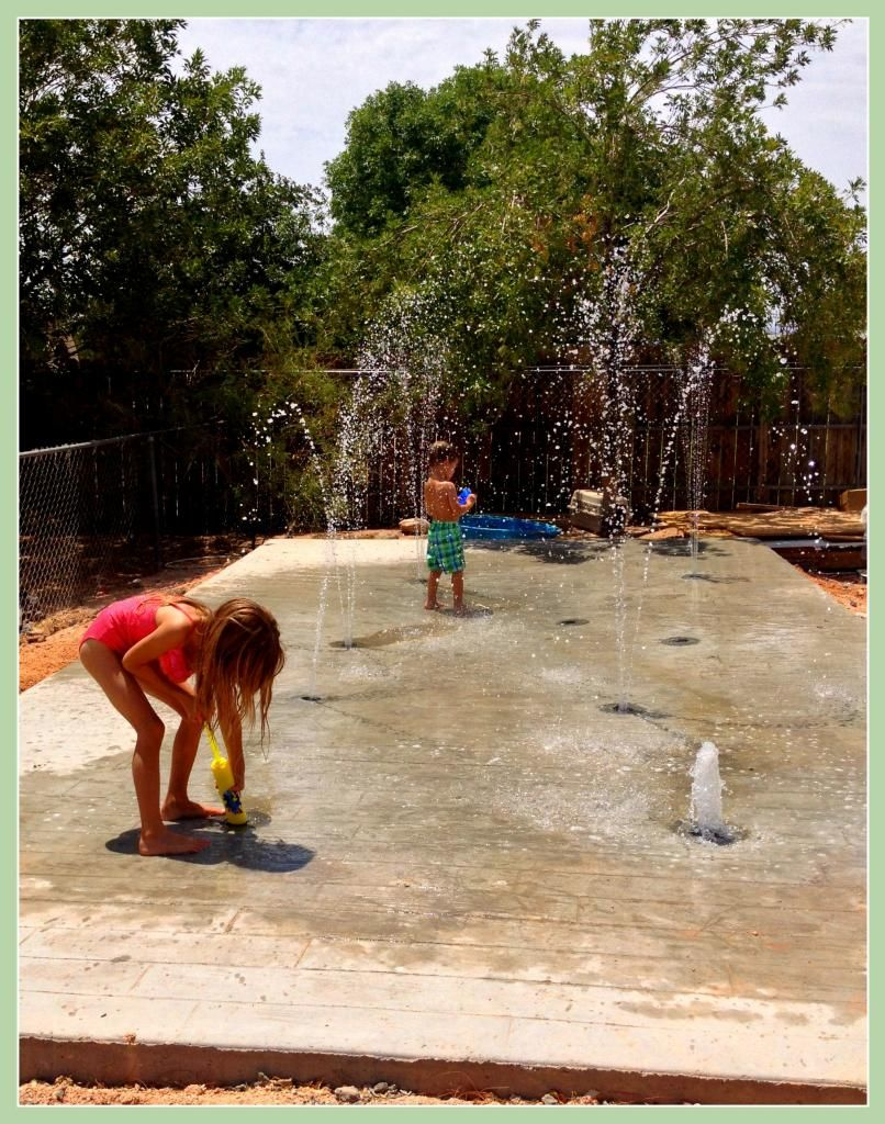 WetDek Backyard Splash Pad Installation (Stand Alone)need To Find This | Back  Yard Ideas | Pinterest | Backyard Splash Pad, Splash Pad And Garden