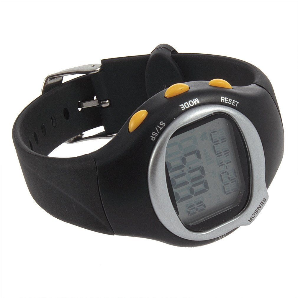 Pulse Heart Rate Monitor Stop Watch Calorie Counter Sport
