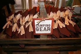 Image result for Fishing and Camping Birthday Party Decoration Ideas