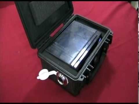 Kayak fishing battery box youtube kayaking hiking for Ice fishing battery box