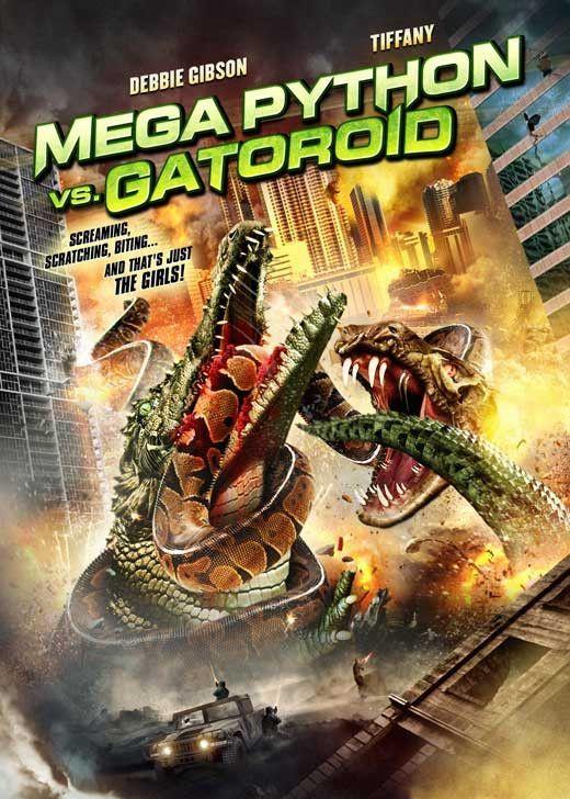 Mega Python Vs Gatoroid 11x17 Tv Poster 2011 Com Imagens