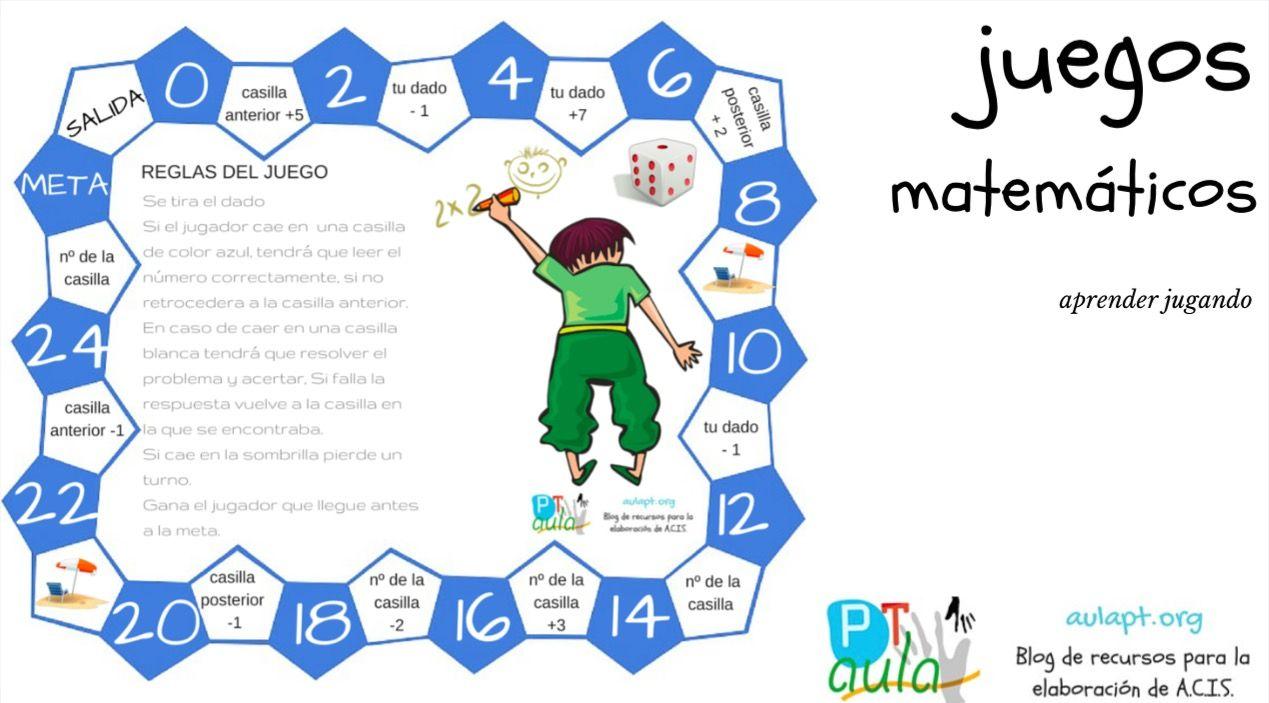 Nuevo tablero de juego para trabajar los números y el cálculo mental. Si  hacéis clic