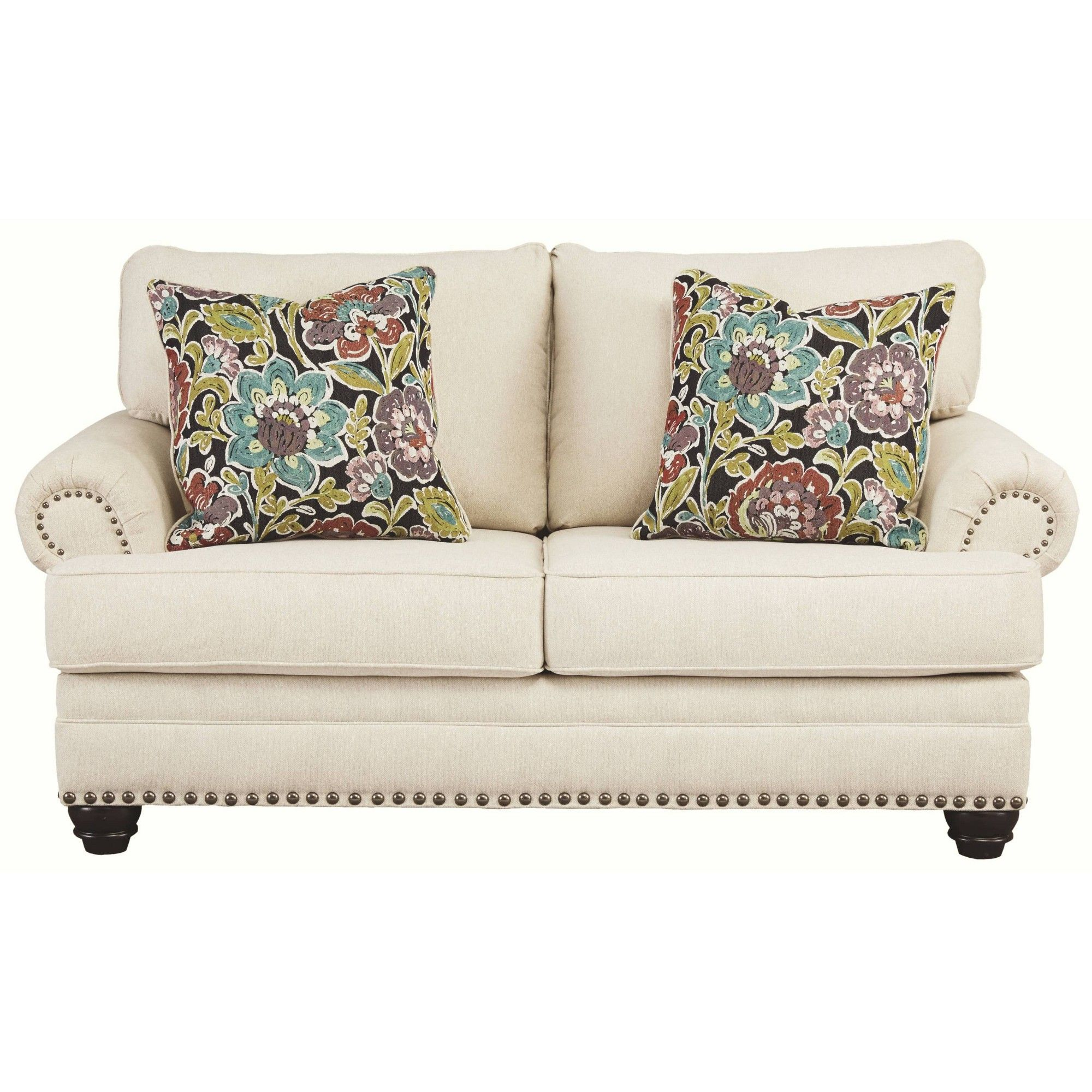 Harrietson Loveseat Shell Signature Design by Ashley in
