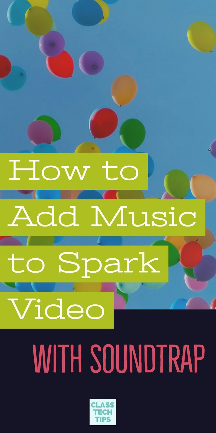 How to Add Music to Spark Video with Soundtrap Learning
