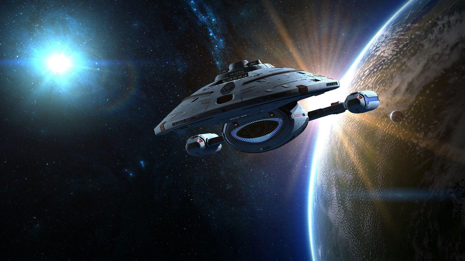 Pin By Justin Day On Sci Fi Star Trek Wallpaper Star Trek Voyager Star Trek Starships