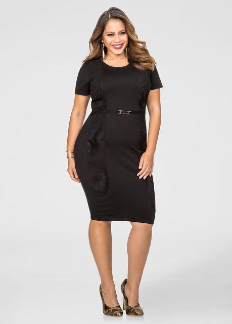 5029ceb1adf Colección de vestidos 2016 - Vestidos para gorditas Plus Size Black Dresses
