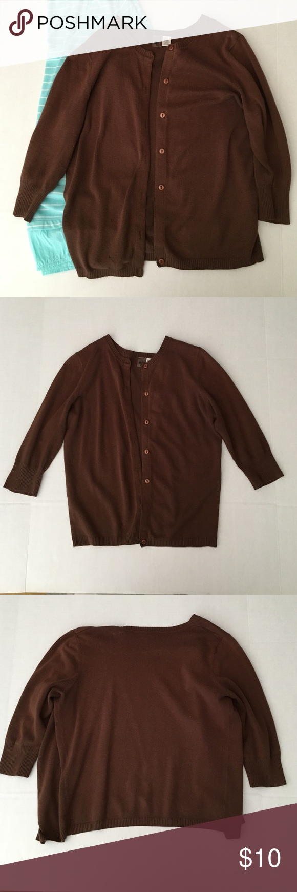 Brown BP cardigan | Sweater cardigan, Ea and Sleeve