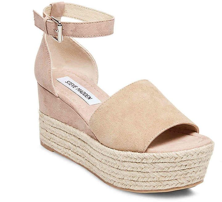 1d5e113e63e Steve Madden Women's Apolo Wedge Sandal | Products in 2019 | Shoes ...